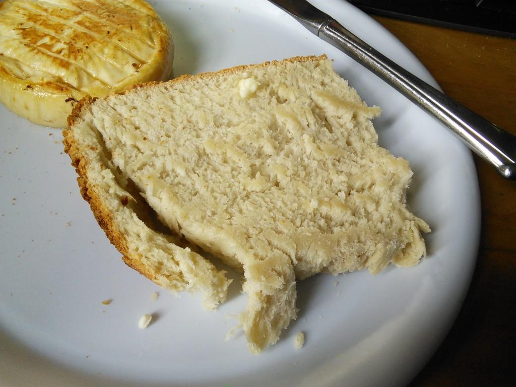 All purpose flour bread