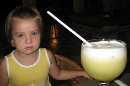 Drink at the Hotel Hacienda Sanchez