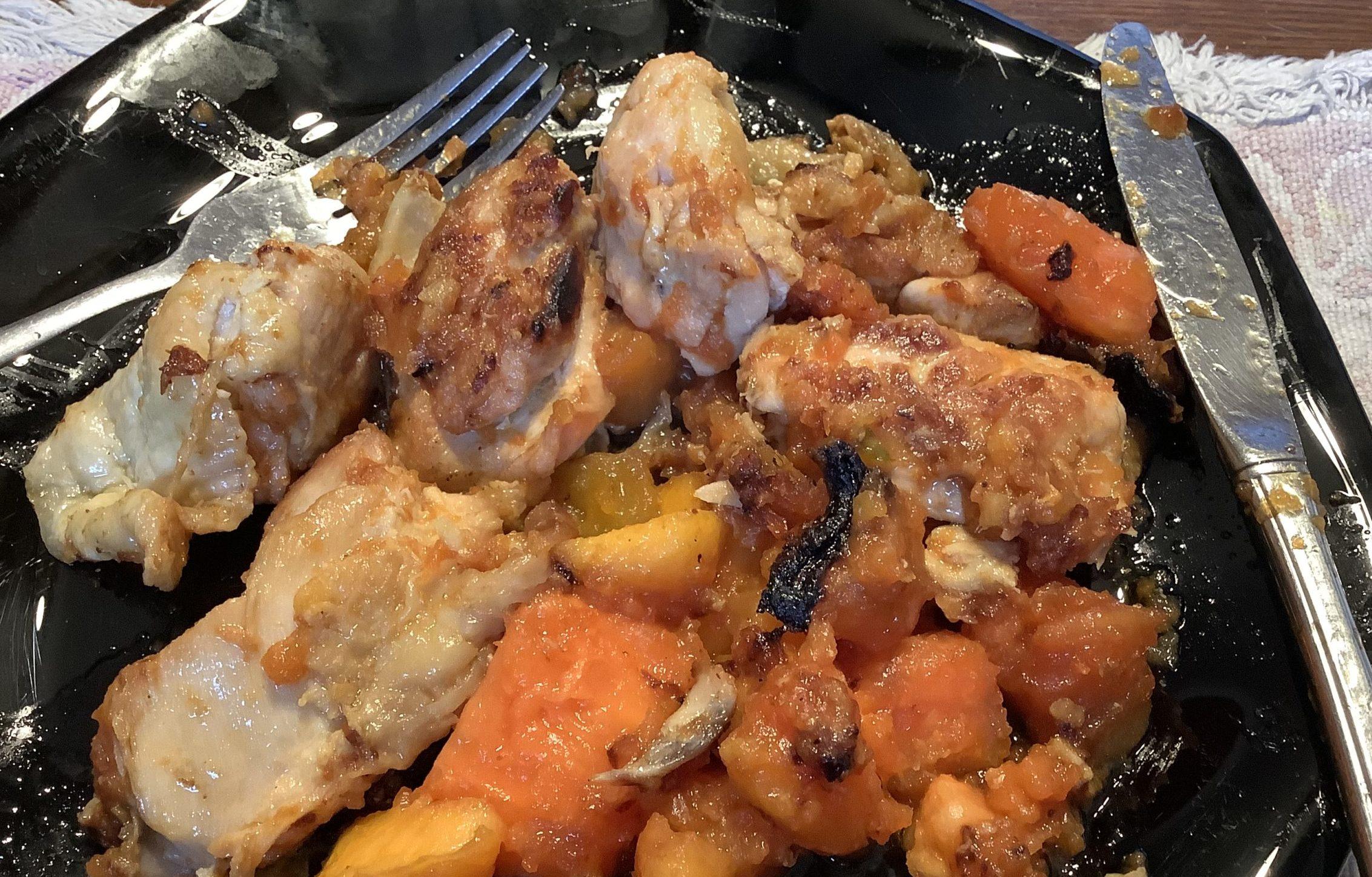 Chicken with Papaya