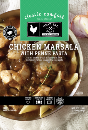 Chicken Marsala with Penne Pasta Review